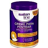 Linha Tratamento (Creme Para Pentear) Salon Line - Brilho Maximo 1000 Gr - (Salon Line Treatment (Combing Cream) Collection - Maximum Shine Net 35.27 Oz)