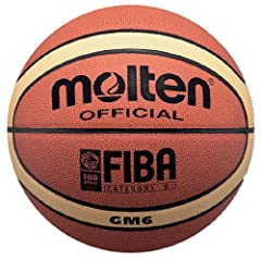Buy Molten BGM Basketball, Indoor Outdoor, FIBA Approved by Molten