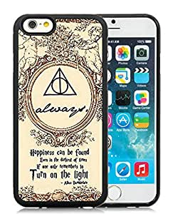 100% brand new Harry Potter Black iPhone 6 (4.7 Inch) TPU Case