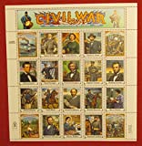Civil War 20 x 32 Cent U.S. Postage Stamps 1995 Scott 2975