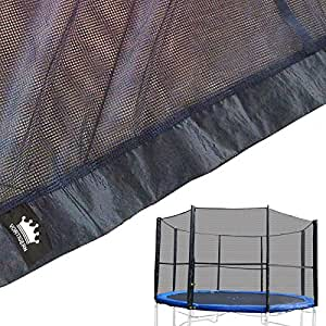 Vortigern Replacement Safety Netting for 10ft Diameter EIGHT pole Trampolines