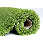 EcoMatrix Artificial Grass Indoor/Outdoor Fake Carpets/Mat Realistic Landscape Synthetic Turf Pet Dog Area (3.3x6.6)
