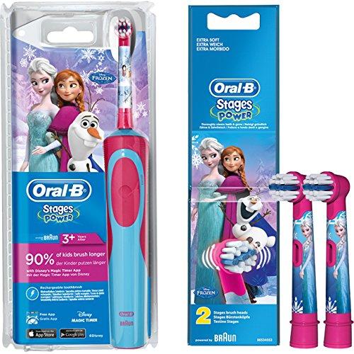SPAR-SET: 1 Braun Oral-B Stages Power AdvancePower Kids 900...