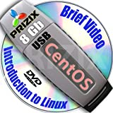 CentOS 6 on 8gb USB Flash and Complete 3-disks DVD Installation and Reference Set, 32 and 64-bit