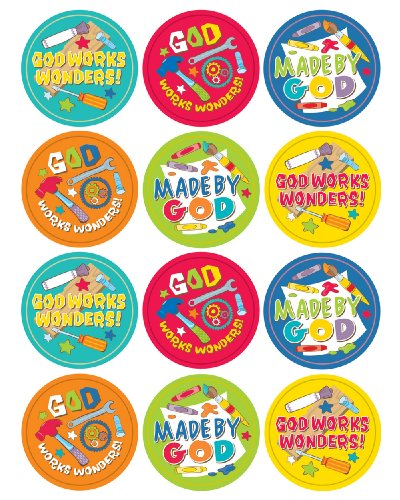 God Works Wonders! Sticker Pack
