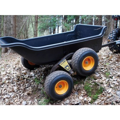 Polar trailer rimorchio per quad o 4x4 capacit di for Brouette de jardin 4 roues