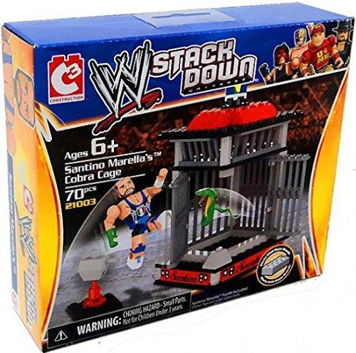 The Bridge Direct WWE StackDown Starter Set Santino Marella's Cobra Cage