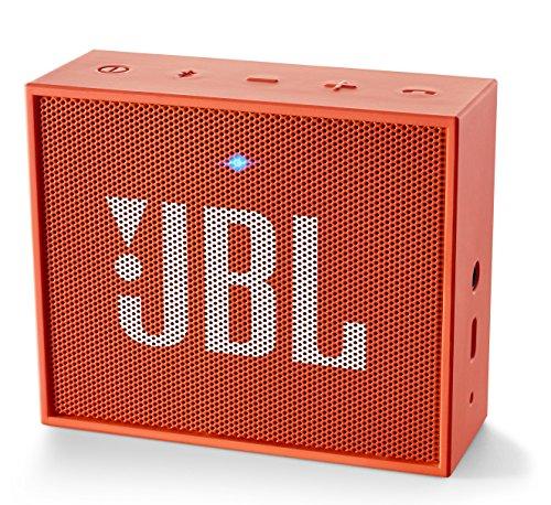 JBL GO Bluetoothスピーカー ポータブル/ワイヤレス対応 オレンジ  JBLGOORG【国内正規品】