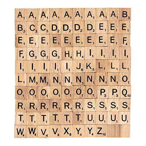 Scrabble Tiles (100 Letter Tiles)