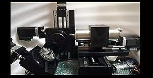 Xinshan Desktop 5 Axis CNC/NC Milling Machine Cubic XSL-V3 Soft Material Al Alloy/Wood/Silver/Wax/Plastics/Golden/Copper Using Windows CAD or CAM Support G Code Control DIY Distance X160Y200Z125