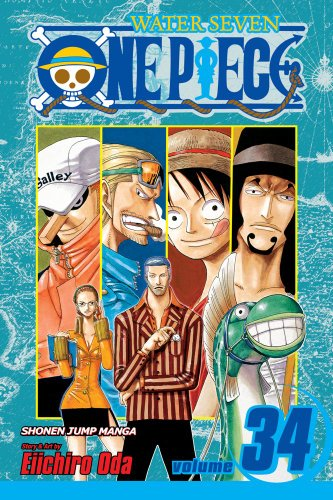 ONE PIECE ワンピース コミック34巻 (英語版)