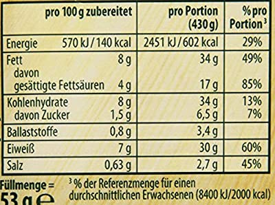 Knorr Fix Lasagne Unsere Beste, 18er Pack (18 x 53 g) von Knorr - Gewürze Shop