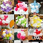 Wholesale Beauty Birthday Wedding Party Decor heart Latex Balloons U Pick 10./100pcs My GN (white)