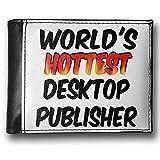 Wallet Worlds hottest Desktop Publisher, RFID Men's Bifold ID Case - Neonblond