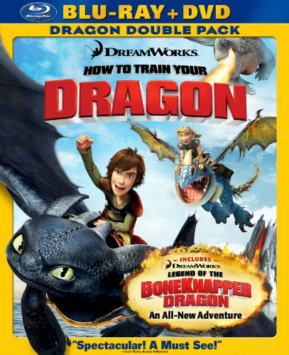 How to Train Your Dragon (Two-Disc Blu-ray/DVD Combo + Dragon Double Pack) [Blu-ray]