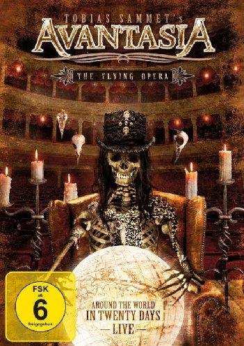 Avantasia - The Flying Opera - Around The World In (2 DVD + 2 CD)