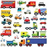 Decowall DW-1205, 27 Transport Wall Stickers/wall Decals/wall Transfers/wall Tattoos/wall Sticker