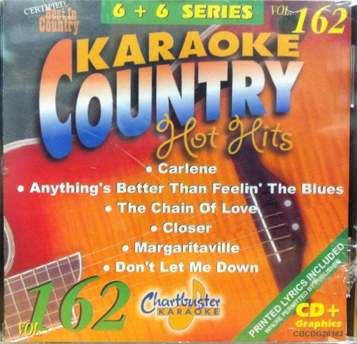 Chartbuster Karaoke Country Hot Hits Vol. 162 (Karaoke Margaritaville compare prices)