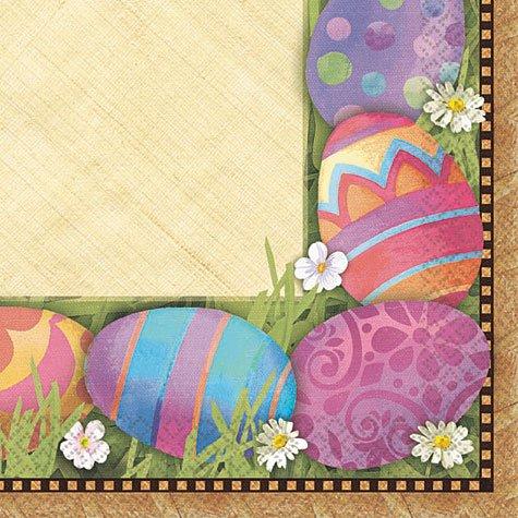 Easter Elegance Beverage Napkins 16ct - 1