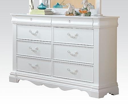 Estrella Youth Dresser in White by Acme Furniture