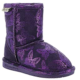 Bearpaw Kids Girl\'s Belle (Toddler/Little Kid) Deep Purple Boot 7 Toddler M
