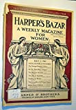 img - for Harper's Bazar (Bazaar) - A Weekly Magazine for Women, July 7, 1900 - The Automobile at the National Capital book / textbook / text book