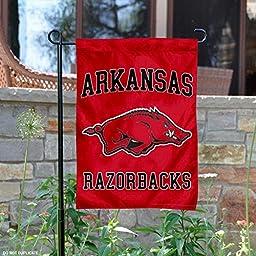 Arkansas Razorbacks Garden Flag