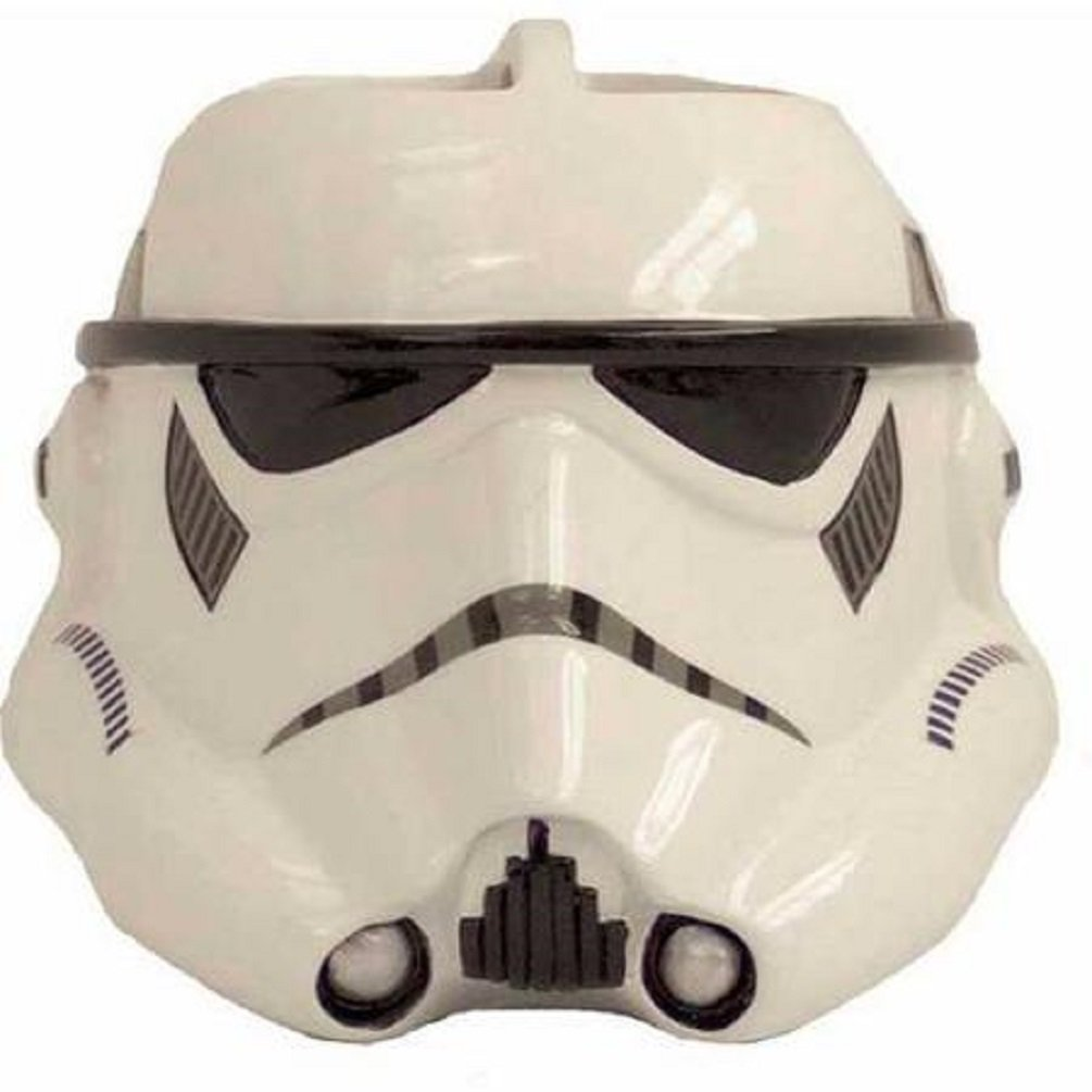 Star Wars Decor Items: stormtrooper toothbrush holder