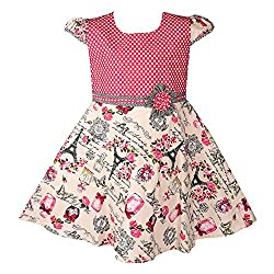 Wish Karo Party wear frock ctn027pnk