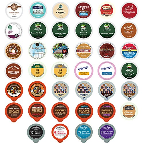 Coffee Variety Sampler Pack for Keurig K-Cup Brewers,  40 Count (Keurig Coffee K Cups Variety compare prices)