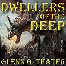 Dwellers of the Deep: Harbinger of Doom, Book 4 Audiobook by Glenn G. Thater Narrated by Stefan Rudnicki, Gabrielle de Cuir