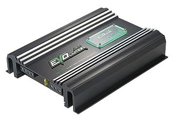 Lanzar EV254 Amplificateur Darlington avec 2 canaux SMD Classe AB 240 W Noir