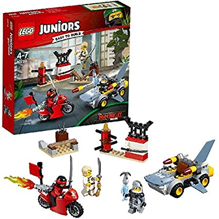 LEGO - 10739 - LEGO Juniors - Jeu de Construction - L'Attaque du Requin