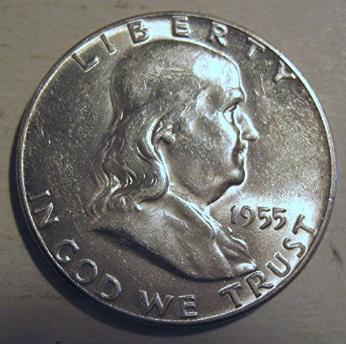 1955 Franklin Bugs Bunny silver Half Dollar MS-60 US Mint
