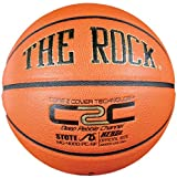 Anaconda Sports® The Rock® MG-4000-PC-NF Men's Deep Pebble Channel Composite Basketball with Core 2 Cover Technology