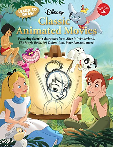 Learn to Draw Disney's Classic Animated Movies: Featuring favorite characters from Alice in Wonderland, The Jungle Book, 101 Dalmatians, Peter Pan, and more! (Licensed Learn to Draw) (Walter Foster Learn To Draw compare prices)