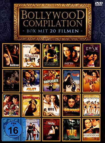 Nice Price Editon Bollywood Fan Paket (Bollywood Compilation Box mit 20 Filmen auf 10 DVDs)