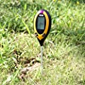 Dr.Meter® Moisture Sensor Meter, Soil Water Monitor, Hydrometer for Gardening, Farming, Indoor/Outdoor Use (4-in-1 Advanced Version)- Test Soil Moisture, Soil PH Value, Soil Temperature and Sunlight Intensity Via Probe