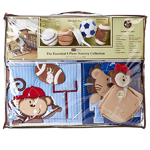 Just Born Baby Bedding 8463 front