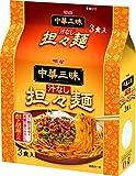 明星 中華三昧 汁なし担々麺 3P×2個
