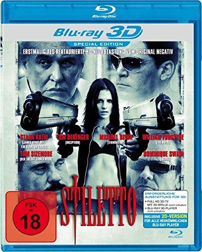 Stiletto Real 3D [Blu-ray]