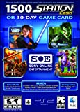 SOE 30 Day Universal Game Card or 1,500 Station Cash