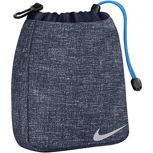 Nike Golf Sport III - Borsetta con Coulisse (Taglia unica) (Obsidiana/Argento)