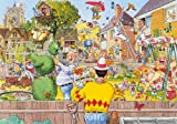 Jumbo Wasgij Original 6 Blooming Marvellous Jigsaw Puzzle (500 Pieces)