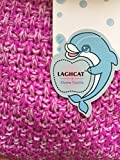 LAGHCAT-Mermaid-Tail-Blanket-Knit-Crochet-and-Mermaid-Blanket-for-AdultSleeping-Bags