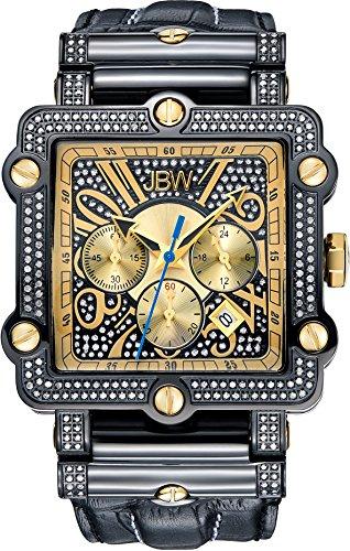 JBW Reloj con movimiento japonés Man 46 mm
