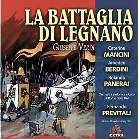 """La battaglia di Legnano : Act 1 Giulive trombe"""" [Chorus, Rolando, I Console, II Console, Tutti]"""