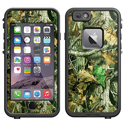 Skin Decal for LifeProof iPhone 6 Case - Camo Hunter Leaf