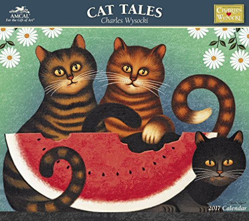 Charles Wysocki - Cat Tales Wall Calendar (2017)
