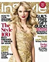 InStyle; December 2009 (Taylor Swift) (The Style 100, Guilt Free Gift Guide)